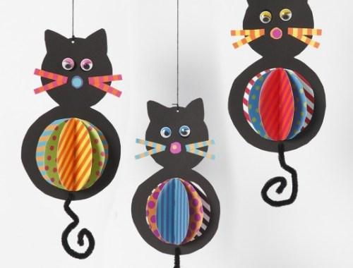 Tvoríme s deťmi papierové mačičky