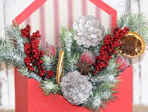 Návod na vianočnú dekoráciu