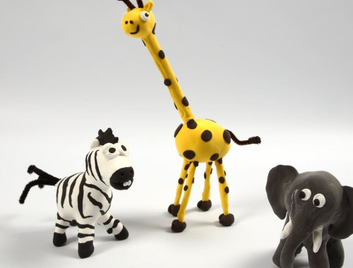 Silk Clay zvieratá