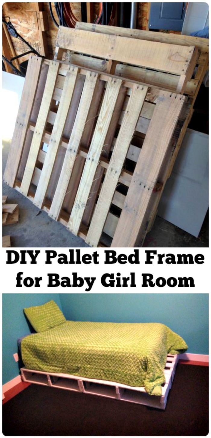20 DIY Pallet Bed Ideas - Pallet Projects on Pallet Bed Room  id=57542