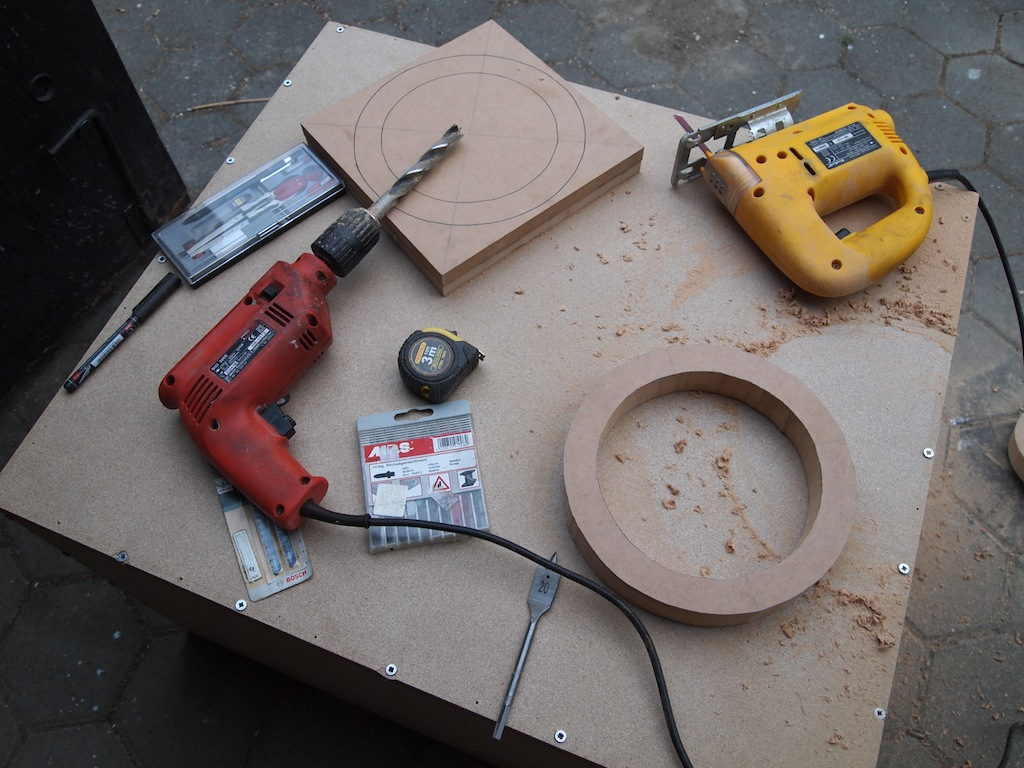 How To Make Wooden Olympic Rings