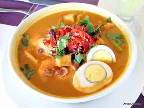 Seafood Curry Laksa by Sutera Sanctuary Lodges in Pulau Manukan, Kota Kinabalu