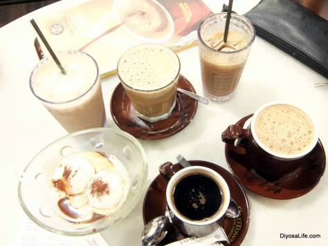 Coffee and Tea by Old Town White Coffee in Kota Kinabalu
