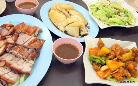 Food by Five Star Hainanese Chicken at Jalan Gaya, Kota Kinabalu