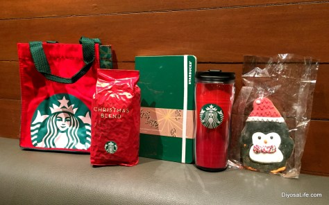 Starbucks Holiday 2015 Loot