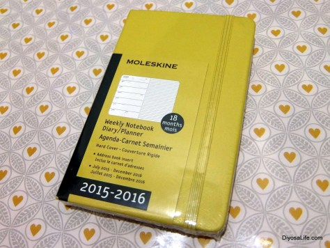 Moleskine Weekly Notebook Planner available at Chimes Boutiques