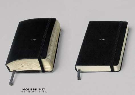 Moleskine After and Before your Tell Your Story