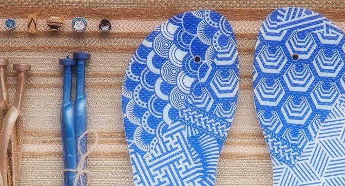 Make Your Own Havainas 2016 Shibori Sole
