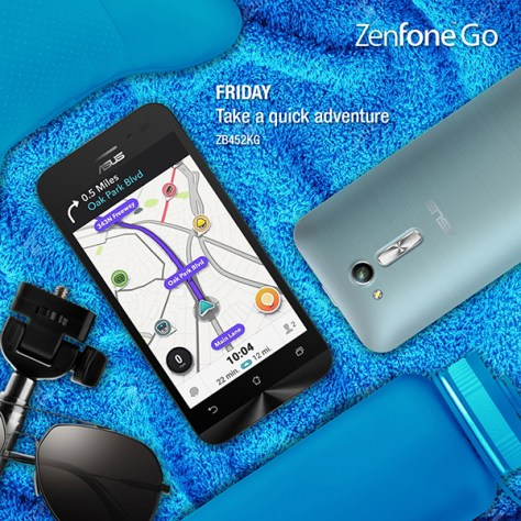 Roadtrip Fridays with Asus ZenFone Go