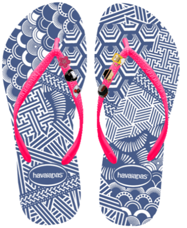 My dream MYOH 2016 Pair: Shibori Slim Sole with Japan-inspired pins