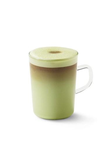 Starbucks Hot Espresso and Matcha Fusion