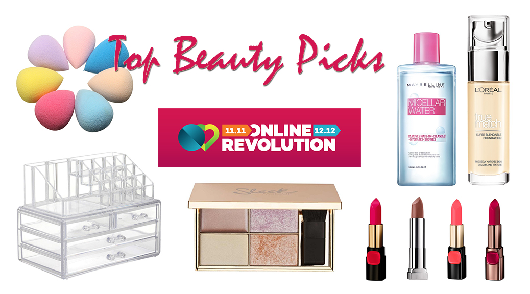 Beauty Picks at the Lazada Online Revolution 2016