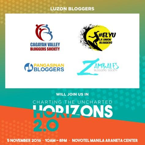 Luzon Bloggers at Blogapalooza 2016 Horizons 2.0