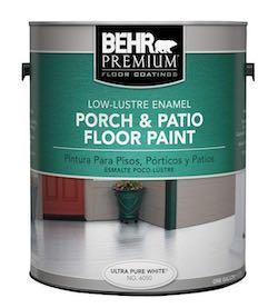 the best floor paints for your porch