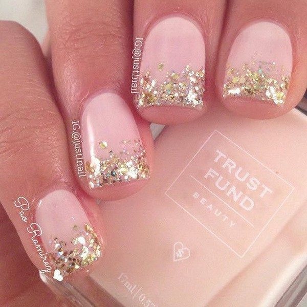 DIY Ideas Nails Art :37 Cute Valentine Day Pink Nail Art Design ...