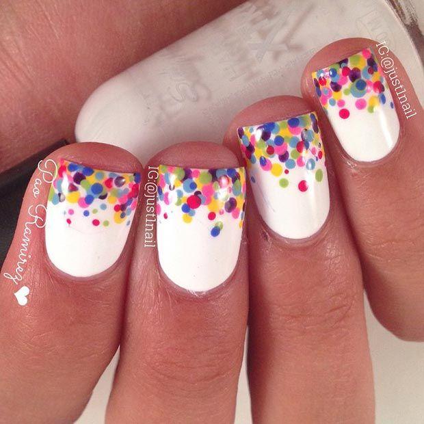 Diy ideas nails art 80 nail designs for short nails stayglam diy tips nails prinsesfo Image collections