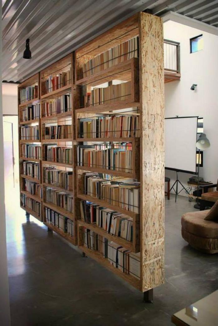 diy shelves ideas separation de piece