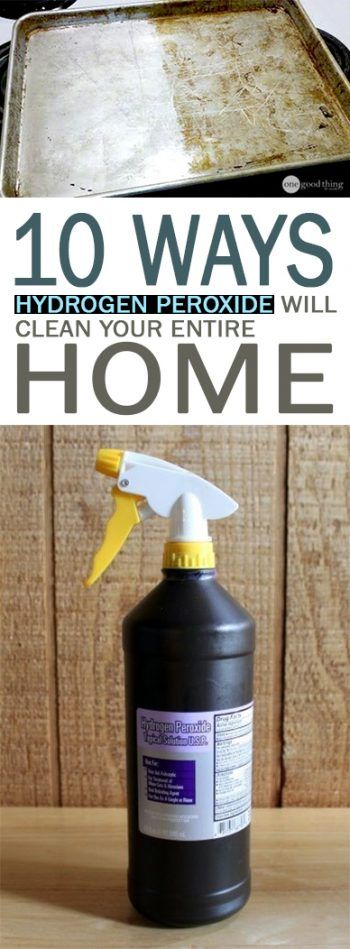 Uses for Hydrogen Peroxide, How to Use Hydrogen Peroxide, Great Ways to Use Pero...