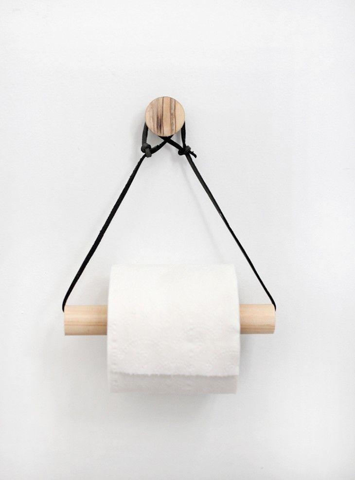 DIY Life Hacks Crafts Un Porte Rouleau De Papier Toilette En - Porte rouleau papier wc