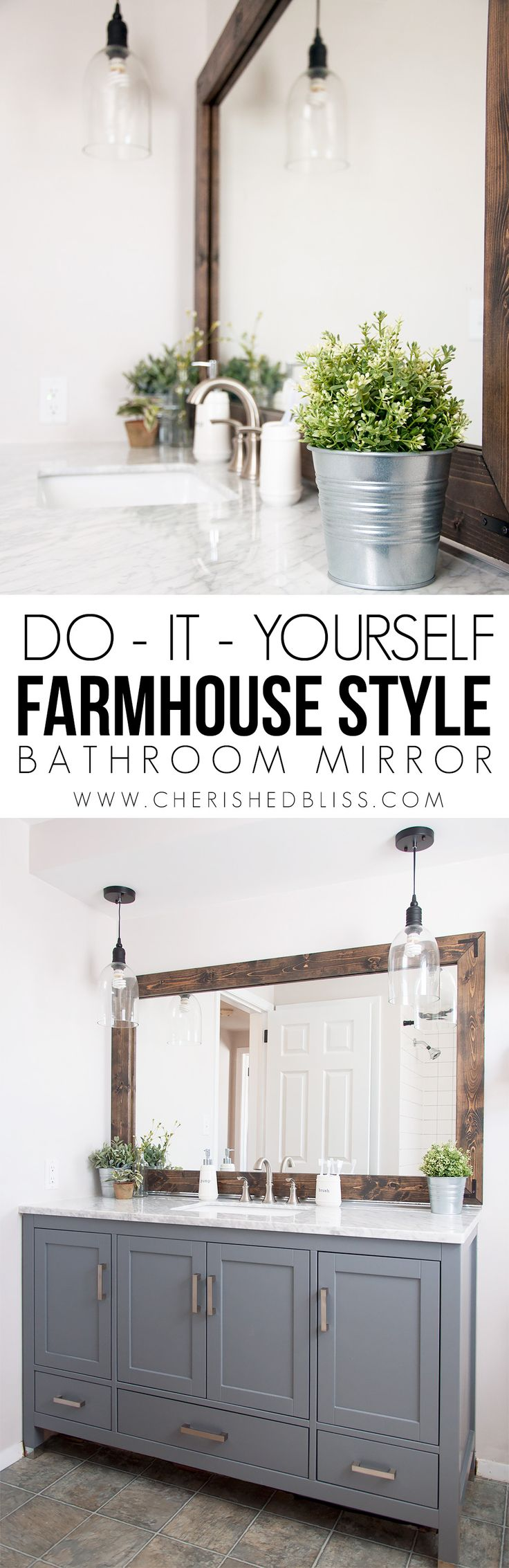 Diy Crafts Ideas : Add character to your bathroom with this DIY ...