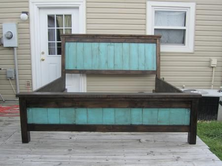 Diy Furniture Farmhouse Bed Do It Yourself Home