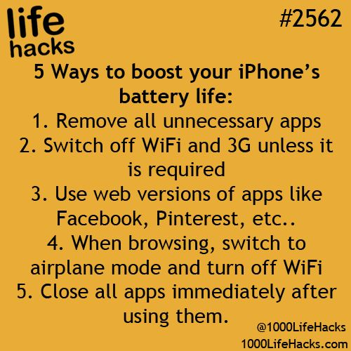 Boost Iphone battery life♛ ♛~✿Ophelia Ryan ✿~♛
