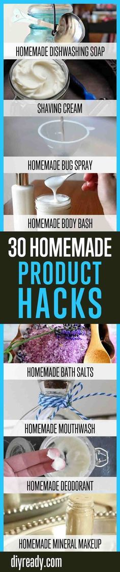 30 Homemade Product Hacks You Will Never Buy Again | Household Cleaning Products...
