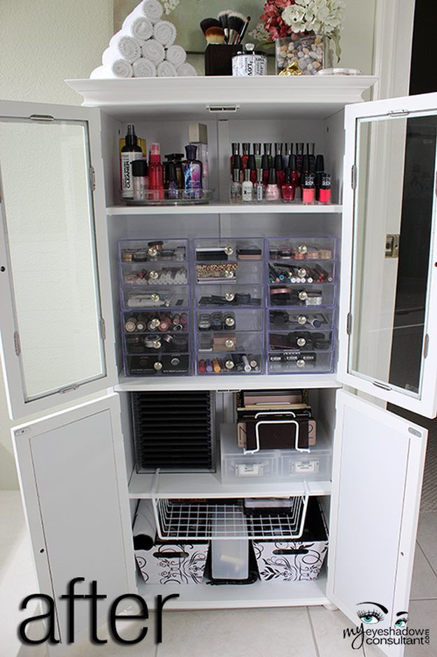 Medicine Cabinet | 17 Makeup Storage Ideas You'll Surely Love | Creative  and C
