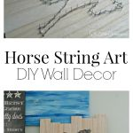 Best Diy Crafts Ideas For Your Home How To Make String Art Horse String Art Project Diypick Com Your Daily Source Of Diy Ideas Craft Projects And Life Hacks
