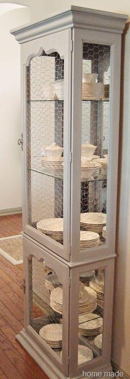 DIY Furniture Plans Amp Tutorials Chicken Wire Curio