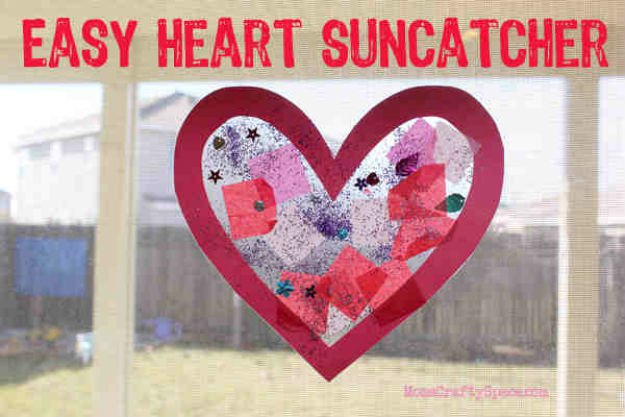 Easy To Make Cute Valentines Day Decoration Red Heart Decorations Charming Home Decorating Ideas