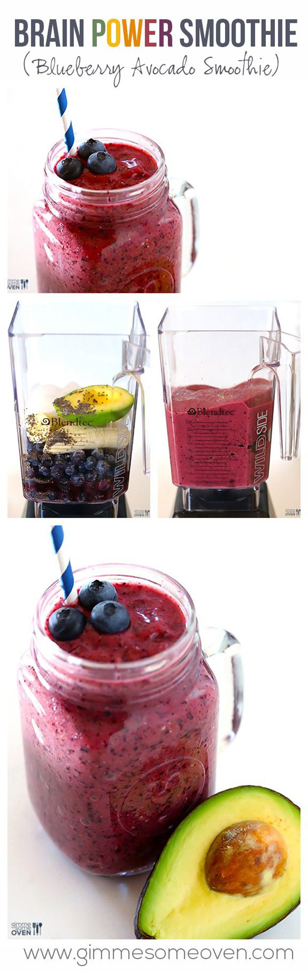 Delicious Detox Smoothie Recipe | www.diyprojects.com/13-detox-smoothies-proven-to-boost-your-energy/