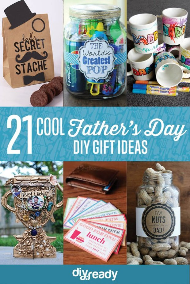 Cool DIY Father's Day Gift Ideas | https://diyprojects.com/25-cool-fathers-day-gift-ideas/