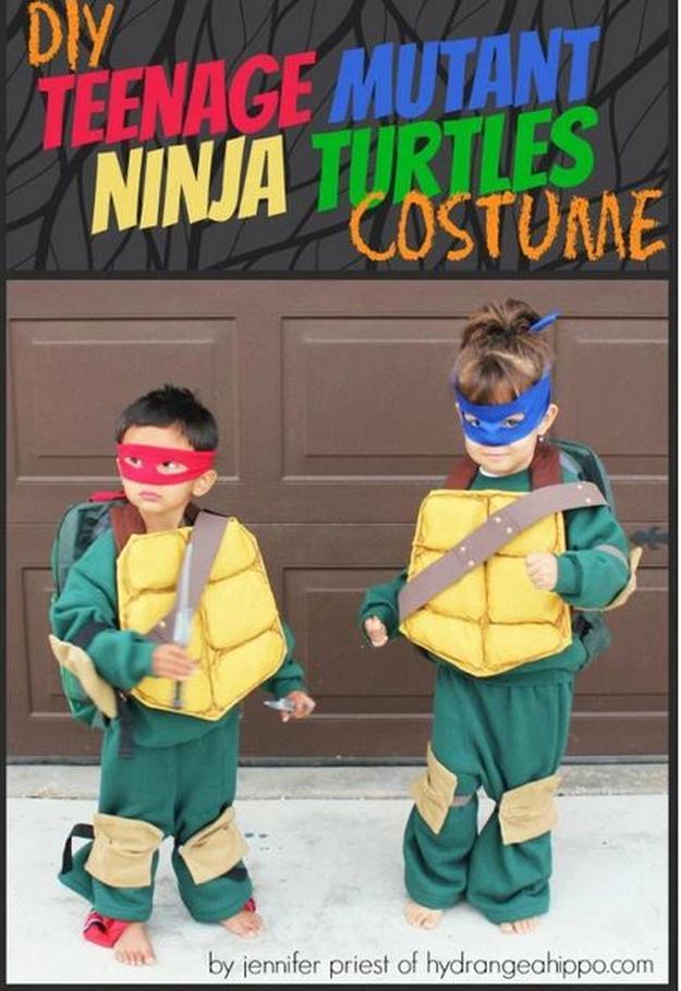 15 DIY Ninja Turtle Costume Ideas Cowabunga DIY Projects