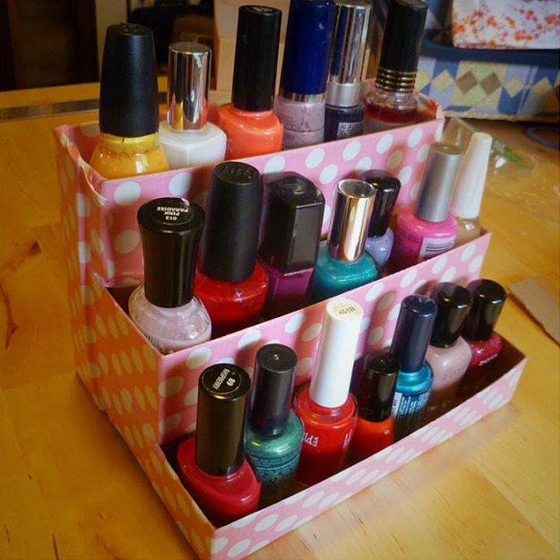 Diy Birchbox Nail Polish Rack Ideas See More At