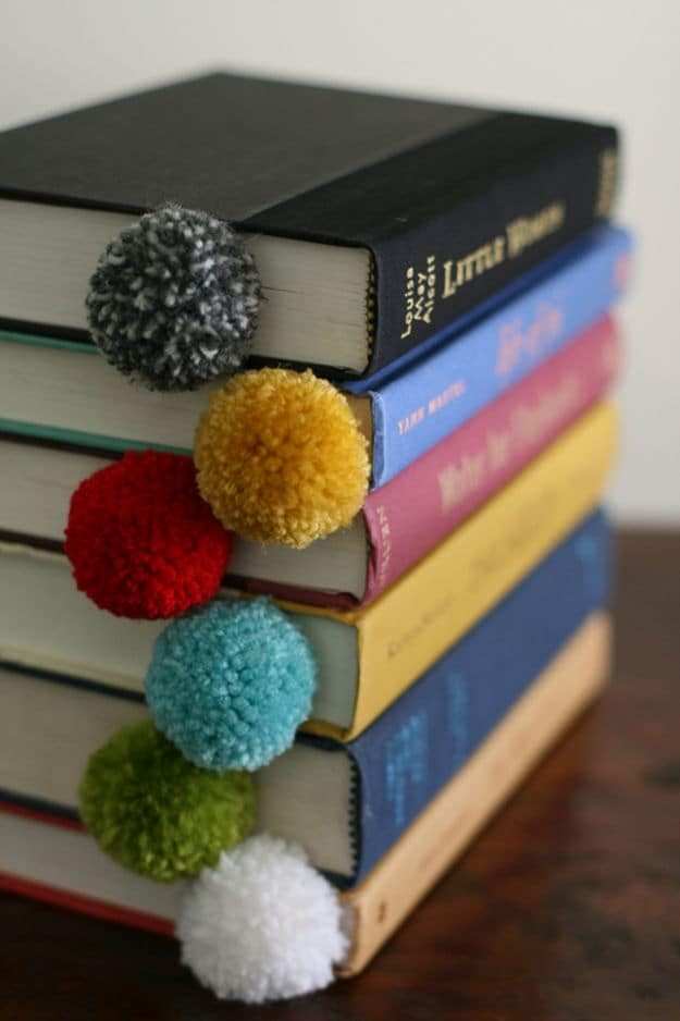Yarn Ball Bookmarks | Easy Crafts To Make And Sell