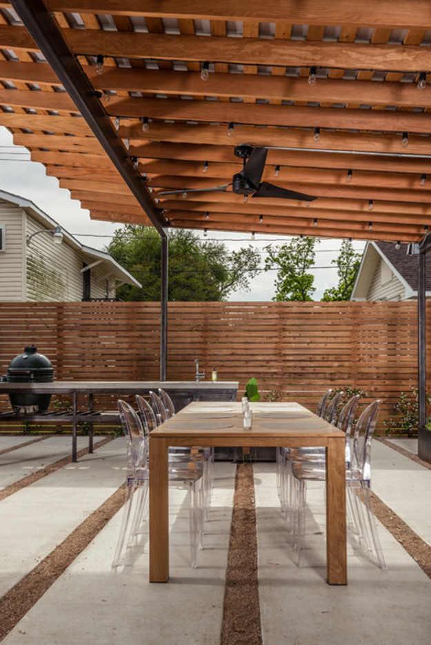 Backyard Fence Ideas DIY Projects Craft Ideas & How To's ... on Diy Back Patio Ideas id=53018