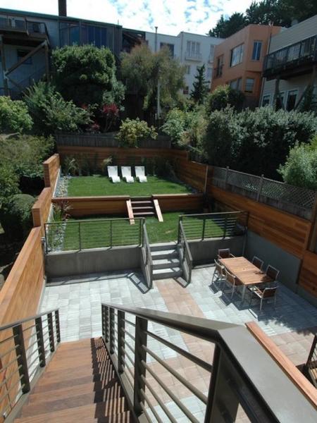 back yard patio design idea Backyard Ideas For Small Yards To DIY This Spring   DIY