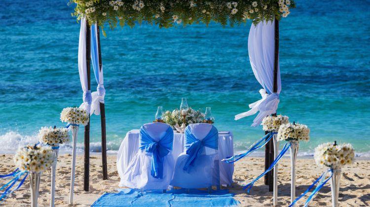 Unique Summer Beach Wedding Ideas