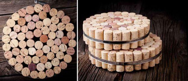 Cork Trivet   Impressive Ways To Reuse Wine Corks