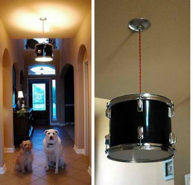 Drum Pendant Lighting Kit