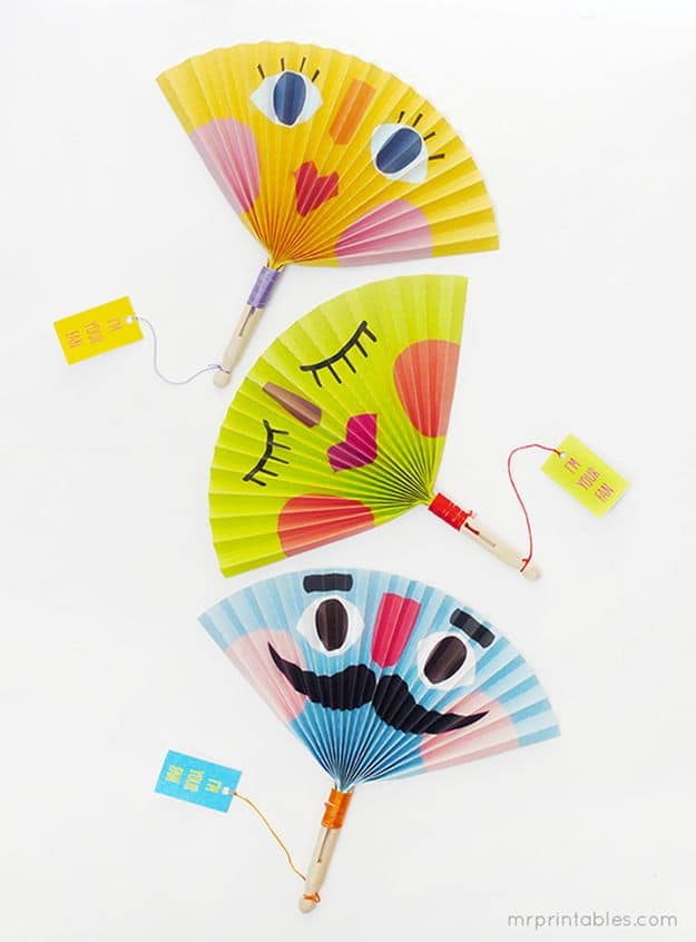 DIY Paper Fans | Simple DIY Crafts For Kids