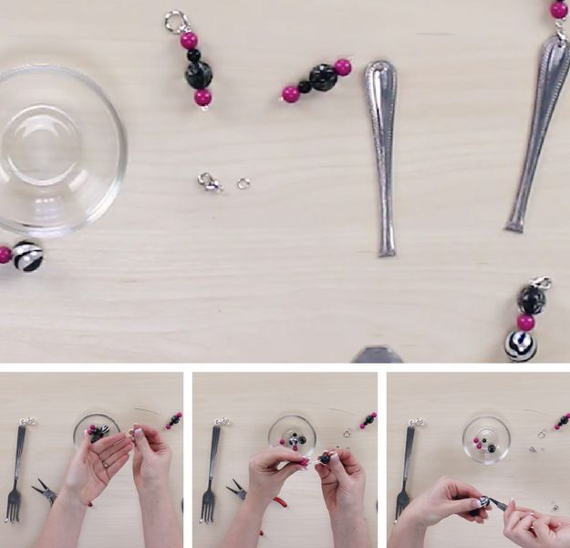 Step 5: Assemble The Beads | DIY Wind Chimes | A Dazzling Silverware Wind Chime Tutorial