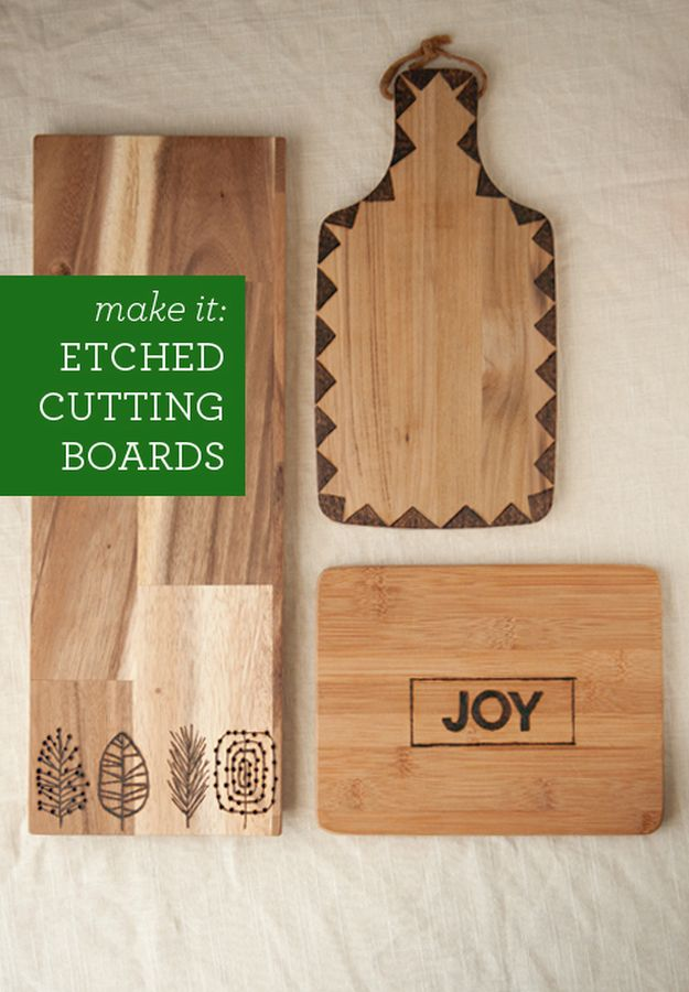 Etched Cutting Boards | Easy Crafts To Make And Sell