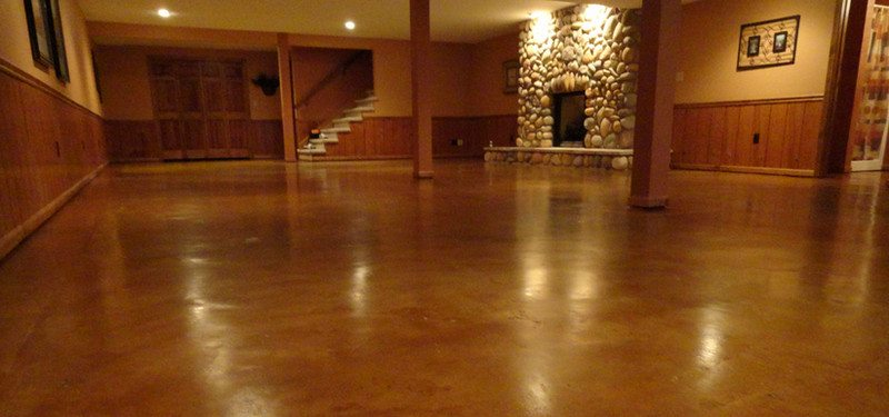 How To Prepare, Stain And Seal Any Concrete Floor In Six