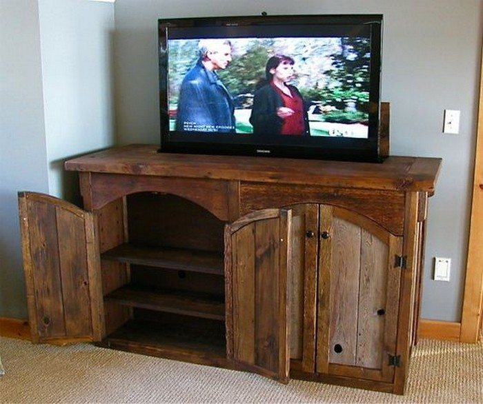 DIY TV Lift Cabinet DIY Projects For Everyone