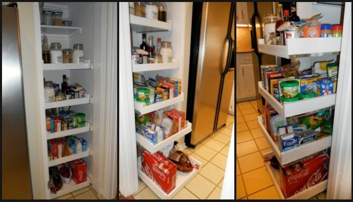 How To Build Pull-out Pantry Shelves