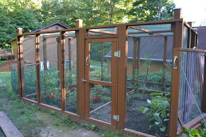 Build A Raised Amp Enclosed Garden Bed DIY Projects For