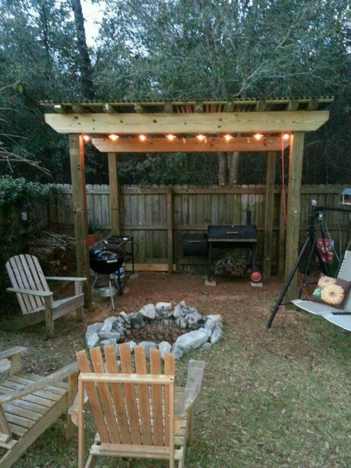 Build a grill gazebo for your backyard!   DIY projects for ... on Diy Bbq Patio id=82674