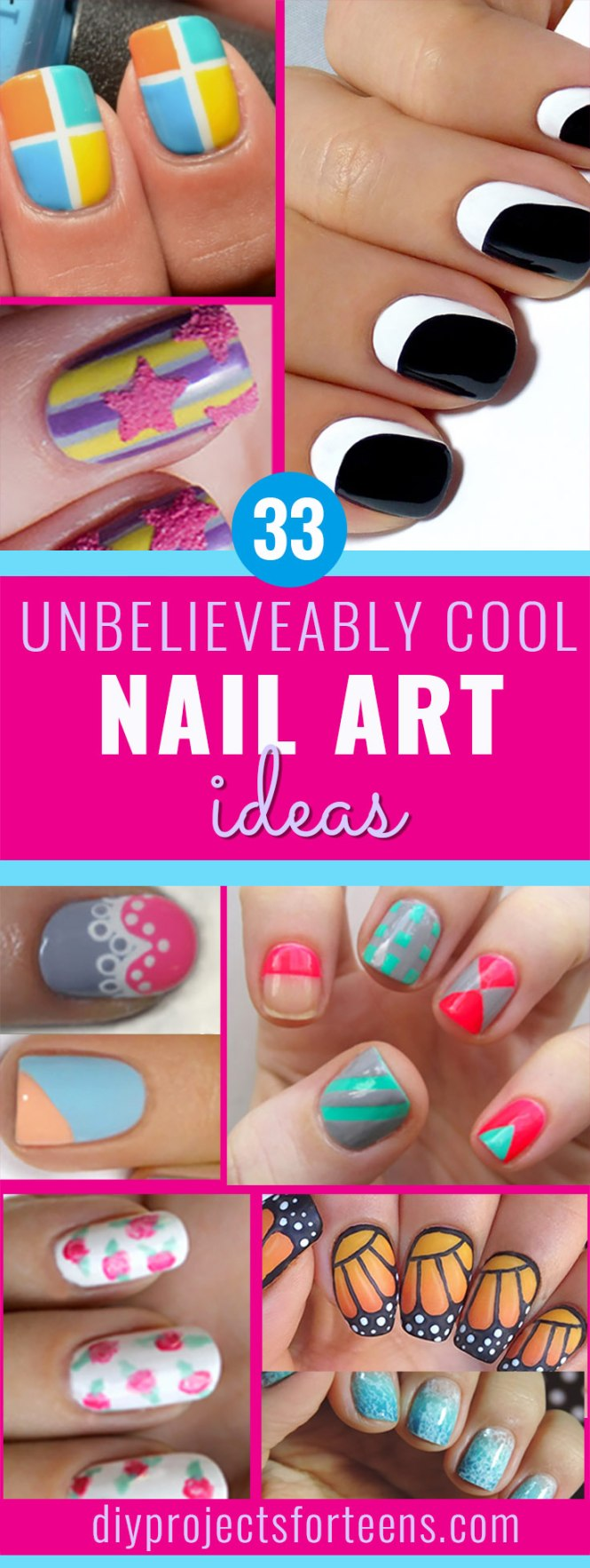 Fun Easy Nail Art How You Can Do It At Home Pictures Designs For The
